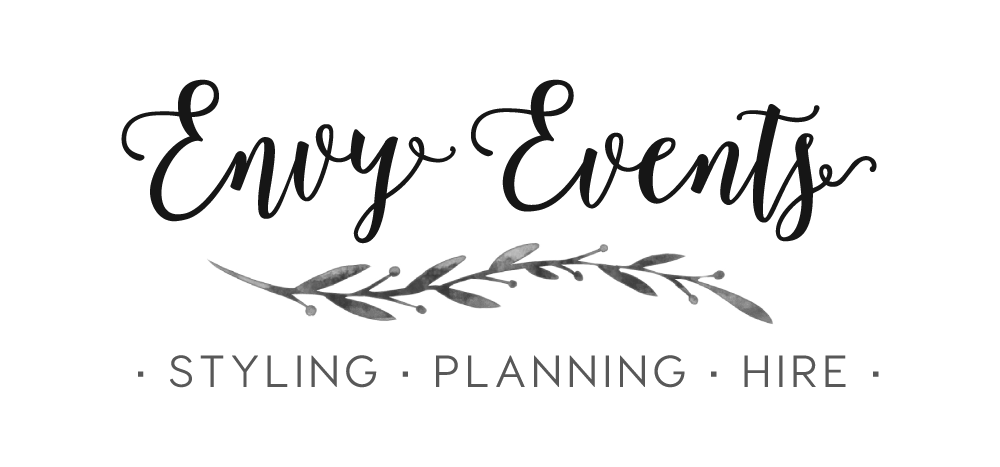 Envy Events, Wedding Hire, Styling, Planning, Auckland
