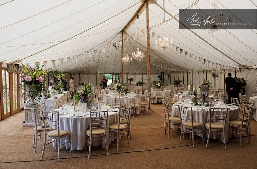 What to consider when having your wedding in a marquee envy having a wedding in a marquee at home or other hired space can be really spectacular but dont think it wont be a lot of work to get it there junglespirit Images