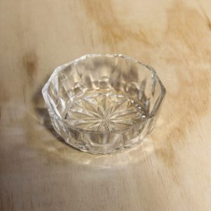 Cut Glass Bowl Small, Wedding Hire Auckland