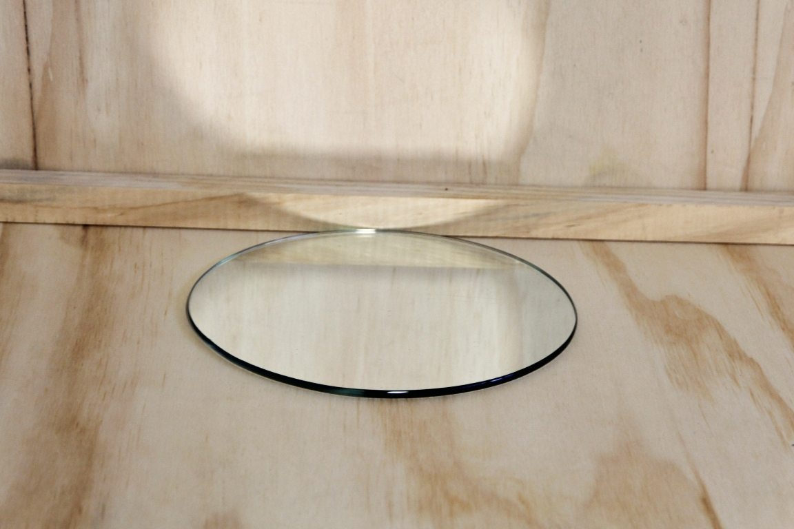 Round Mirror Base 20cm Wedding Hire Envy Events
