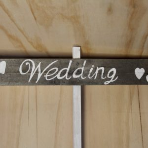 Rustic Wooden Sign Wedding, Wedding Hire Auckland