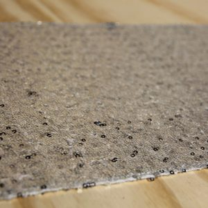 Sequin Table Runner Silver, Wedding Hire Auckland