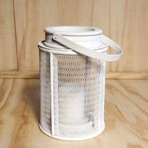 White Mesh Lantern, Wedding Hire Auckland