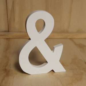 White Wooden & Sign, Wedding Hire Auckland