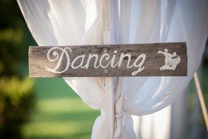 Wooden dancing sign auckland hire