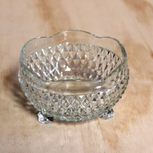 Cut Glass Candy Bowl, Wedding Hire Auckland
