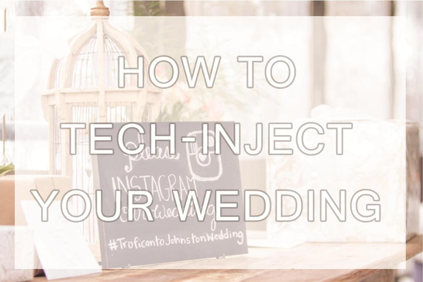 Tech-Inject Your Wedding | Auckland Wedding Styling, Flowers