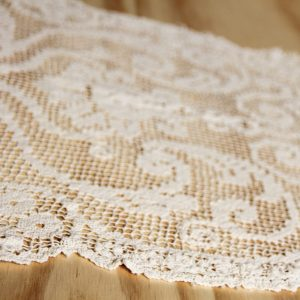 Doily Table Runner Misc, Wedding Hire Auckland