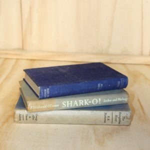 Old Books Blue/Grey, Wedding Hire Auckland
