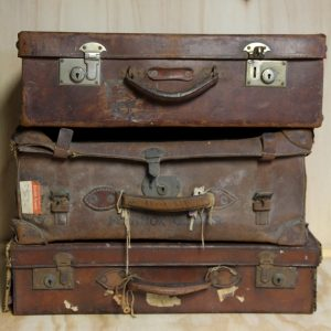 Vintage Suitcase Prop for Wedding Hire Auckland