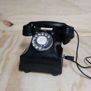Vintage Telephone Prop Black, Wedding Hire Auckland