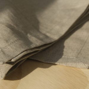 Stonewash Linen Napkin Natural for Hire in Auckland